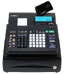 Casio PCR-T470 Cash Rgister with 25 Depts  2000 PLU's & LCD Display.