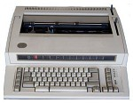 "IBM Typewriter - Personal Wheelwriter 2 - with Spell Alert & 14.75"" Carriage."