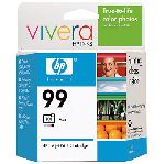 HP 99 Photo Inkjet Print Cartridge with Vivera Ink