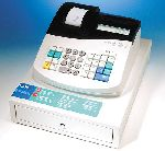 ROYAL 425CX Ink Roller Cash Register w/ 8 Depts. & 400 PLU's.