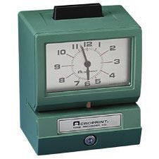 "Acroprint Model BP125 Mechanical Time Recorder with Manual Punch ""Battery Powered"". <font color=""#FF0000"">*NEW*</font>"