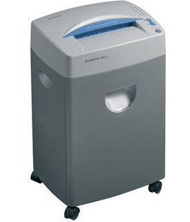 "Martin Yale 3000SC Strip Cut Small Office Shredder with 21 Sheet Capacity & 9"" Throat. <font color=""#FF0000"">*NEW*</font>"