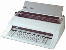 "Nakajima AE-800 Electronic Office Typewriter with Extra Wide 17"" Paper Capacity."