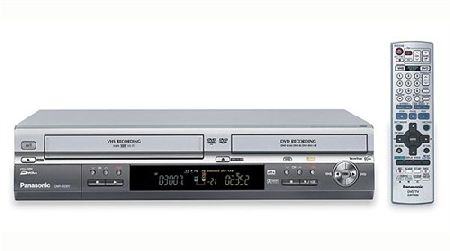 Panasonic ES 30 Progressive Scan DVD-Video Recorder with Built-In VCR - DVD Video Recorder