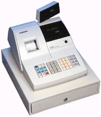 "Samsung ER-290 12 Dept, 200 PLU Electronic Cash Register. <font color=""#FF0000"">*NEW*</font>"