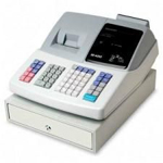 Sharp XE-A21S Thermal Cash Register w/ 20 Depts. & 1200 PLU's.