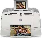 "HP PhotoSmart 375 with4x6 Printer and 2.5"" Color LCD."