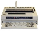 "IBM Typewriter - Wheelwriter 3500 - with 60K Storage, 120K Spell Check, LCD Display & 16.5"" Carriage."