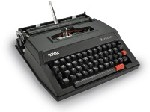 "Royal Scrittore Epoch Manual Typewriter. (Black) <font color=""#FF0000"">*BRAND NEW*</font>"