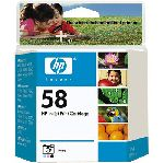 HP 58 Photo Inkjet Print Cartridge
